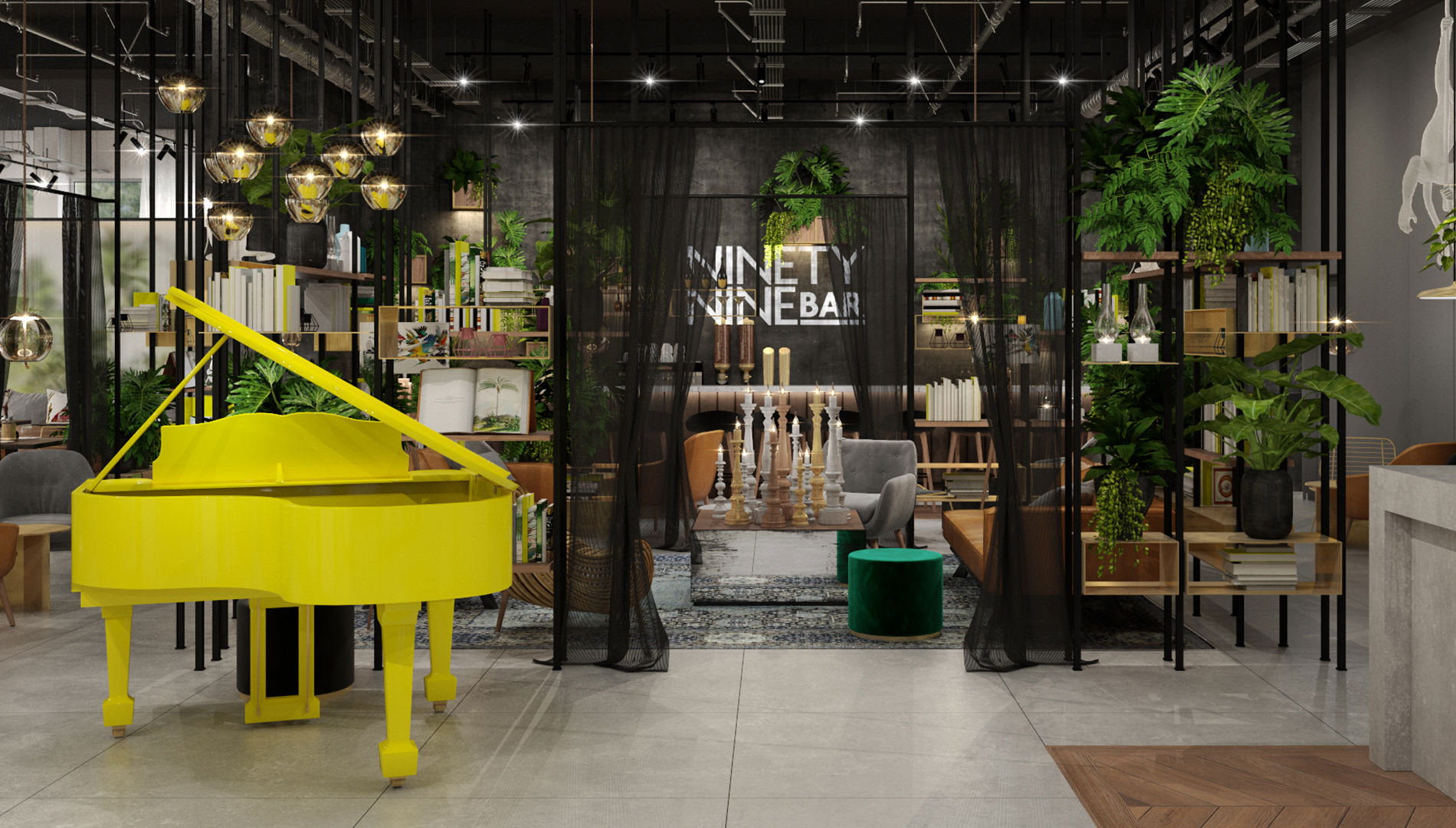 Destinationsentwicklung Ninety Nine Hotels Wuppertal Hotel Design Bar Lounge Going Places