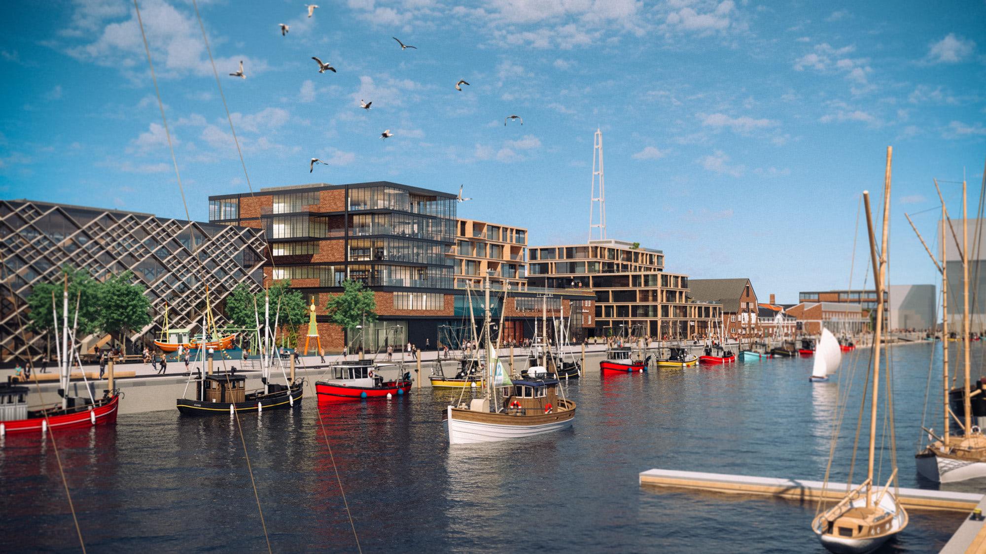 Destinationsentwicklung Quartier Alter Fischereihafen Cuxhaven Meinkenkai Boote Going Places