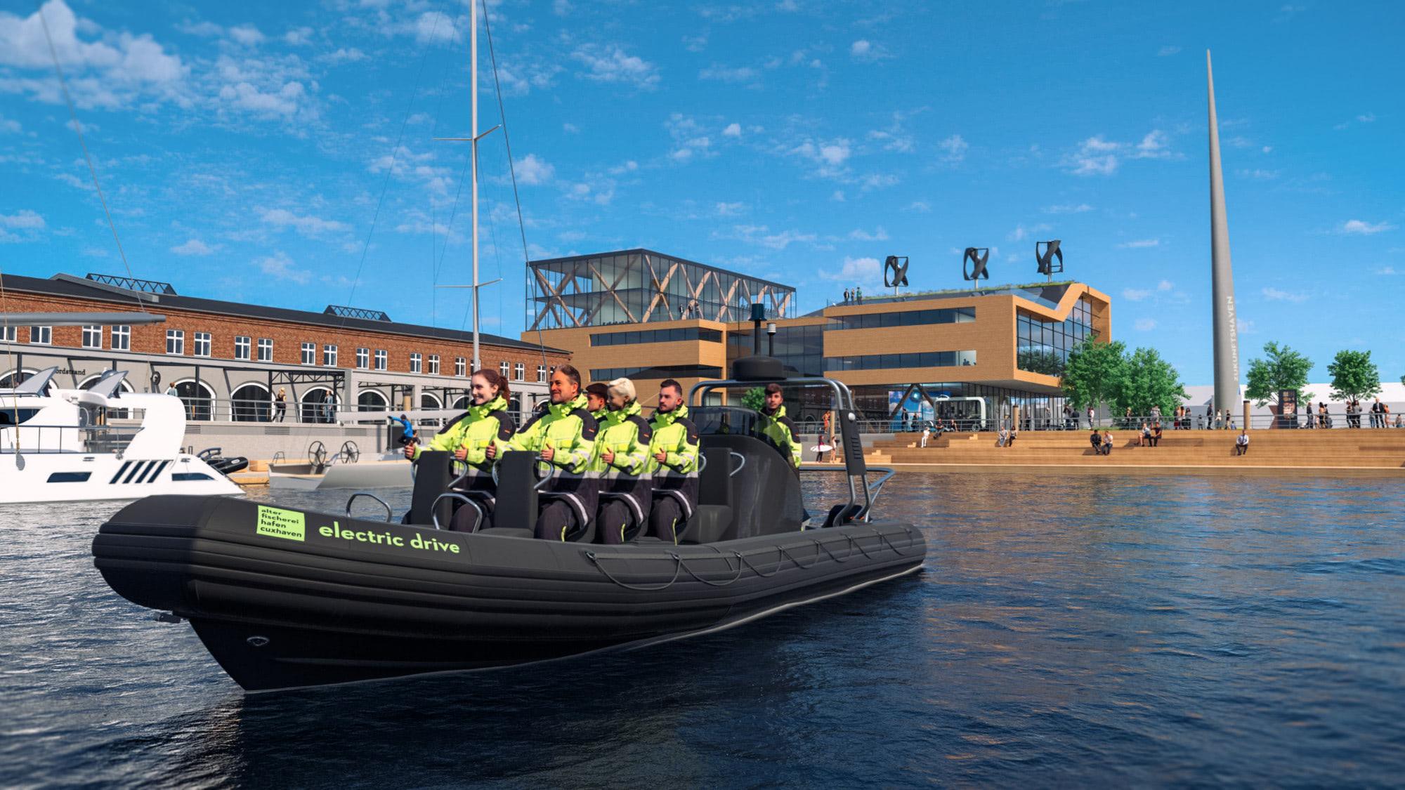 Destinationsentwicklung Quartier Alter Fischereihafen Cuxhaven Zukunftshaven Bootsfahrt Going Places