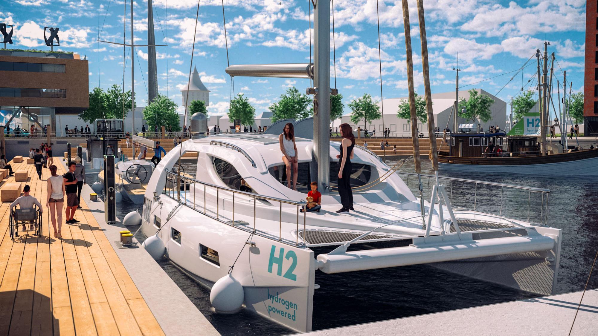 Destinationsentwicklung Quartier Alter Fischereihafen Cuxhaven Meinkenkai Katamaran Going Places