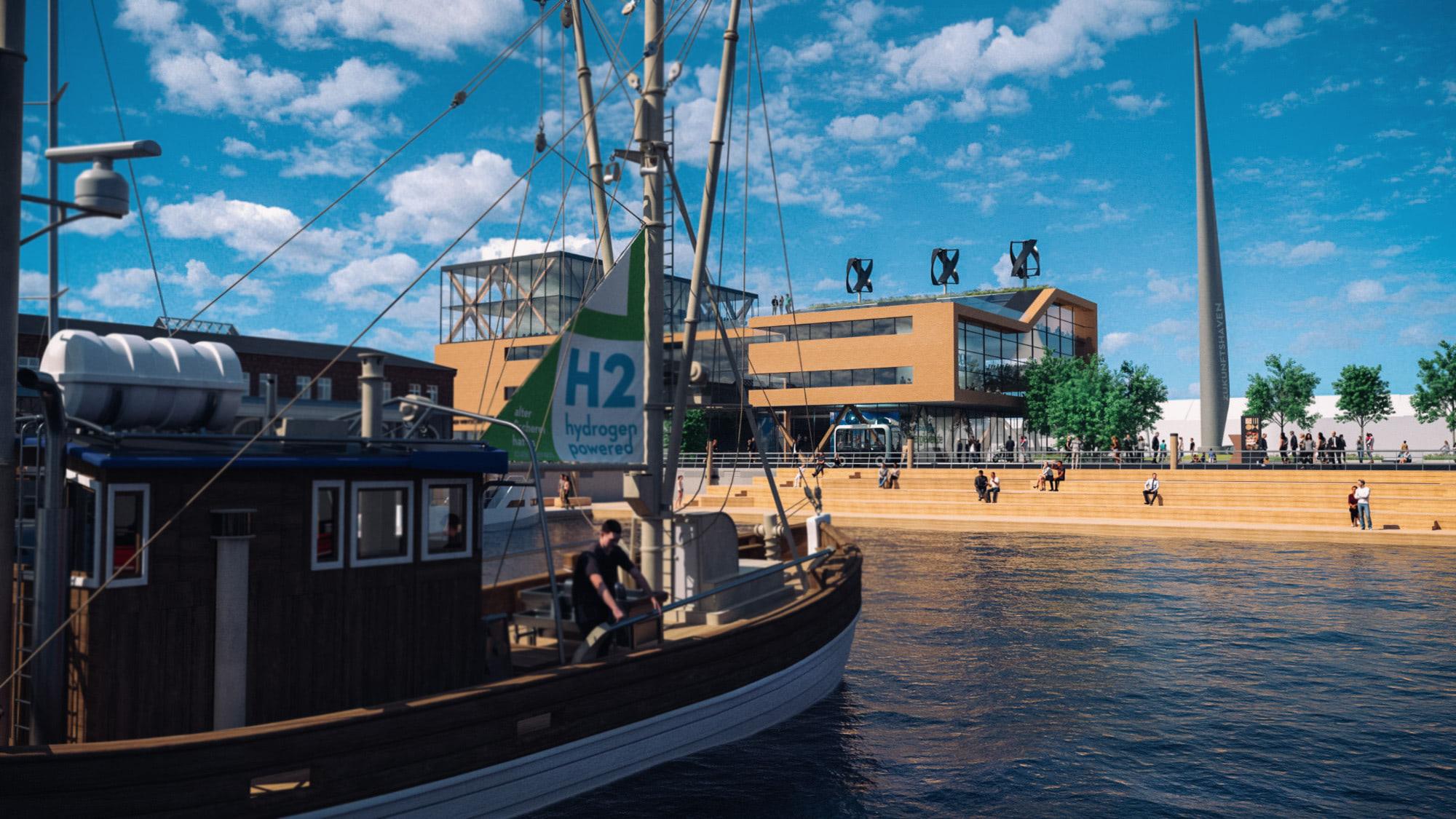 Destinationsentwicklung Quartier Alter Fischereihafen Cuxhaven Zukunftshaven Boot Going Places