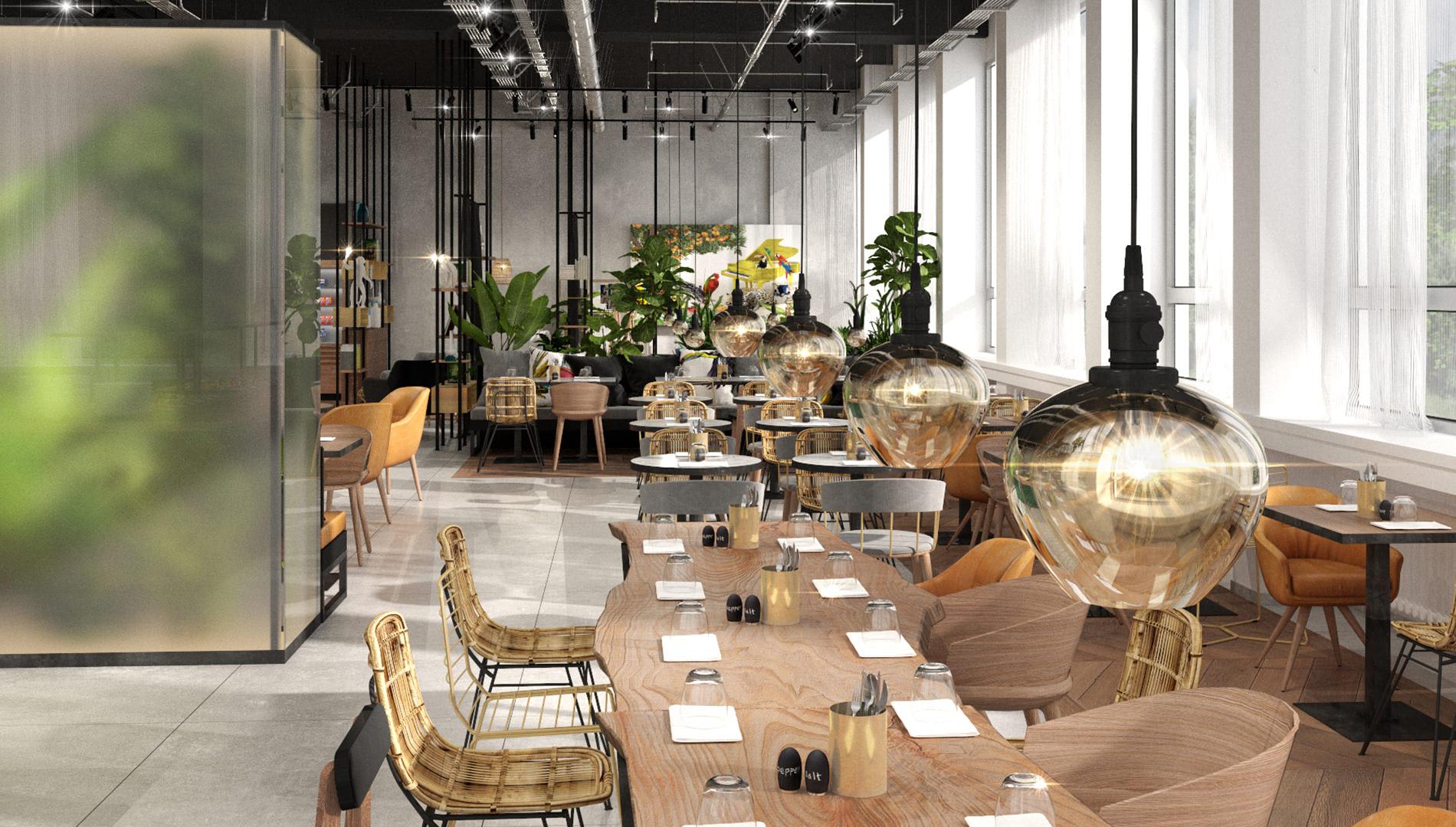 Destinationsentwicklung Ninety Nine Hotels Wuppertal Hotel Design Restaurant Speiseraum Going Places