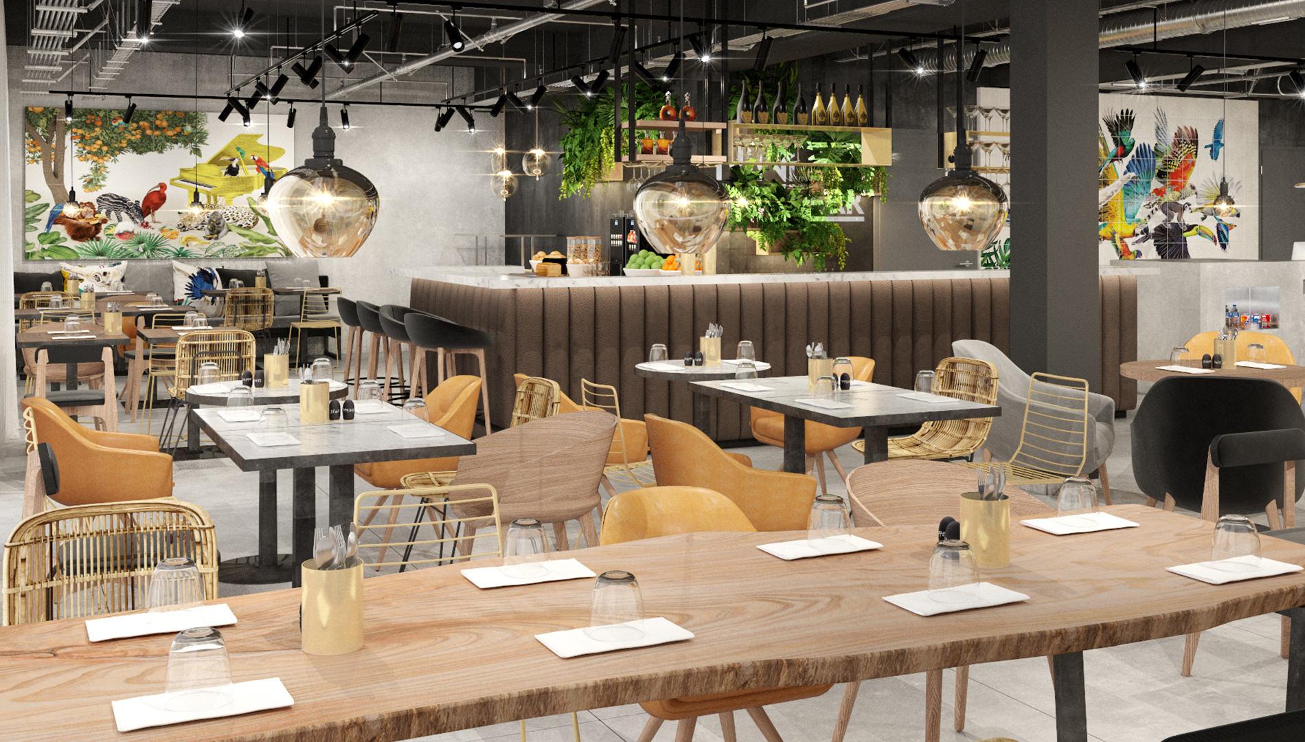 Destinationsentwicklung Ninety Nine Hotels Wuppertal Hotel Design Restaurant Speiseraum Bar Going Places