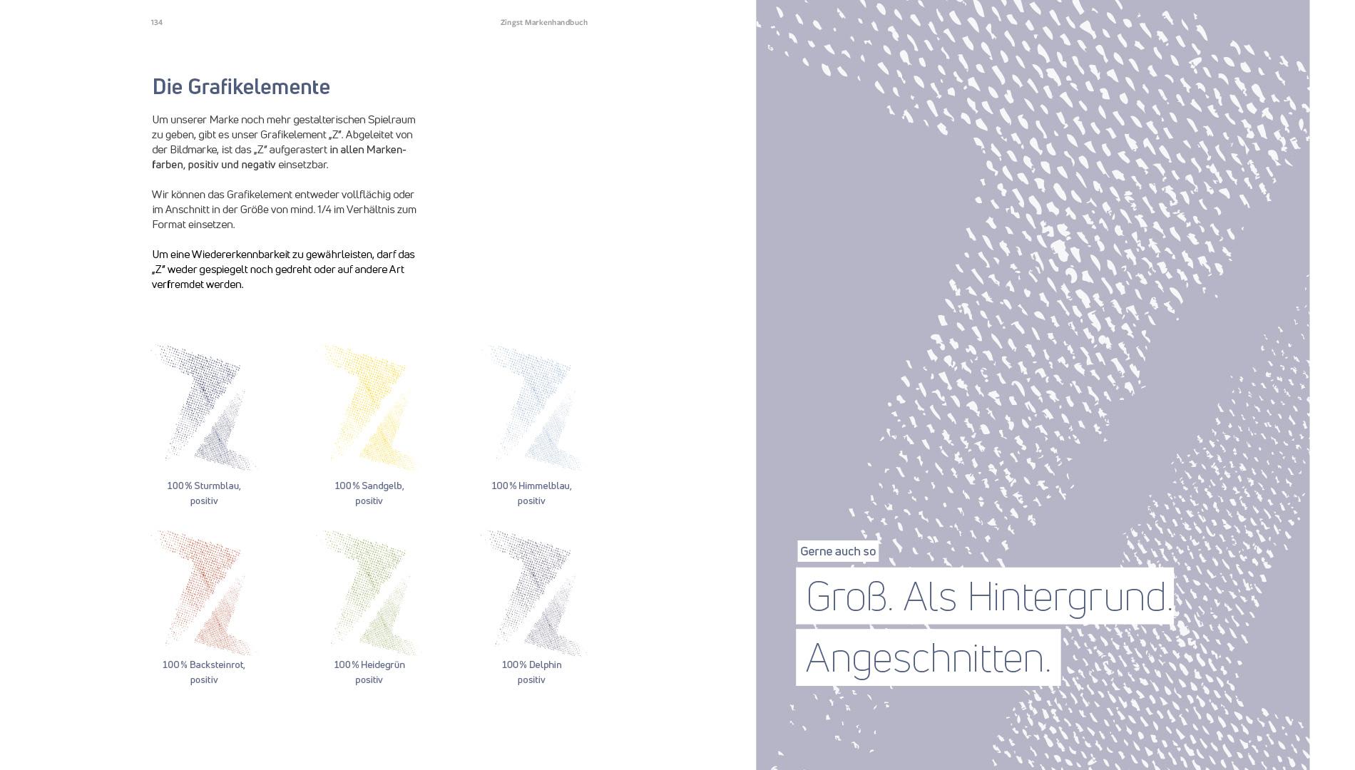 Markenentwicklung Corporate Design Zingst Marke Grafikelemente Going Places