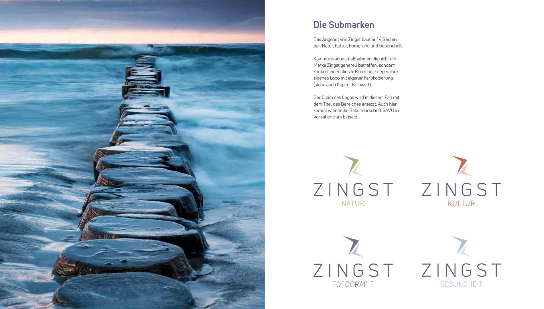 Markenentwicklung Corporate Design Zingst Submarken Going Places