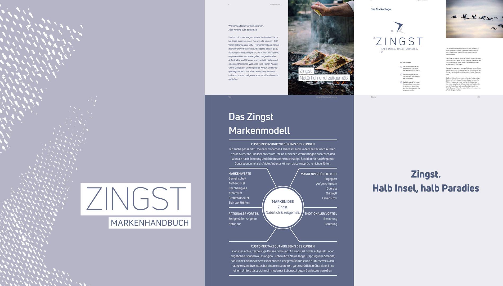 Markenentwicklung Corporate Design Zingst Markenhandbuch Going Places