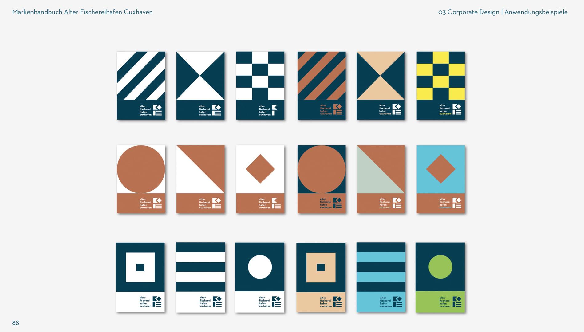 Markenentwicklung Corporate Design Alter Fischereihafen Cuxhaven Markenkonzept Markenhandbuch Going Places