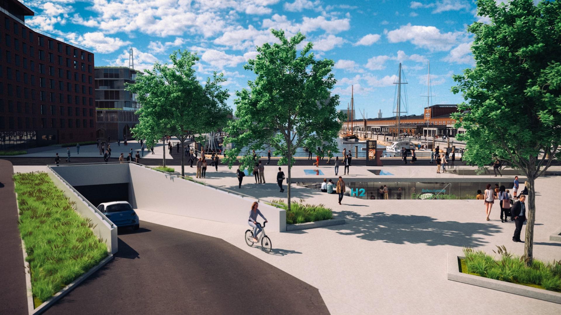 Destinationsentwicklung Quartier Alter Fischereihafen Cuxhaven Zukunftshaven Tiefgarage Going Places