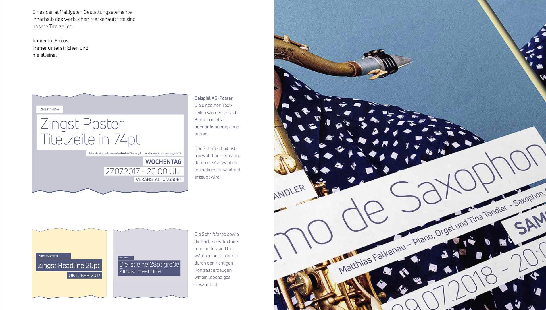 Markenentwicklung Corporate Design Zingst Gestaltungselemente Markenauftritt Going Places